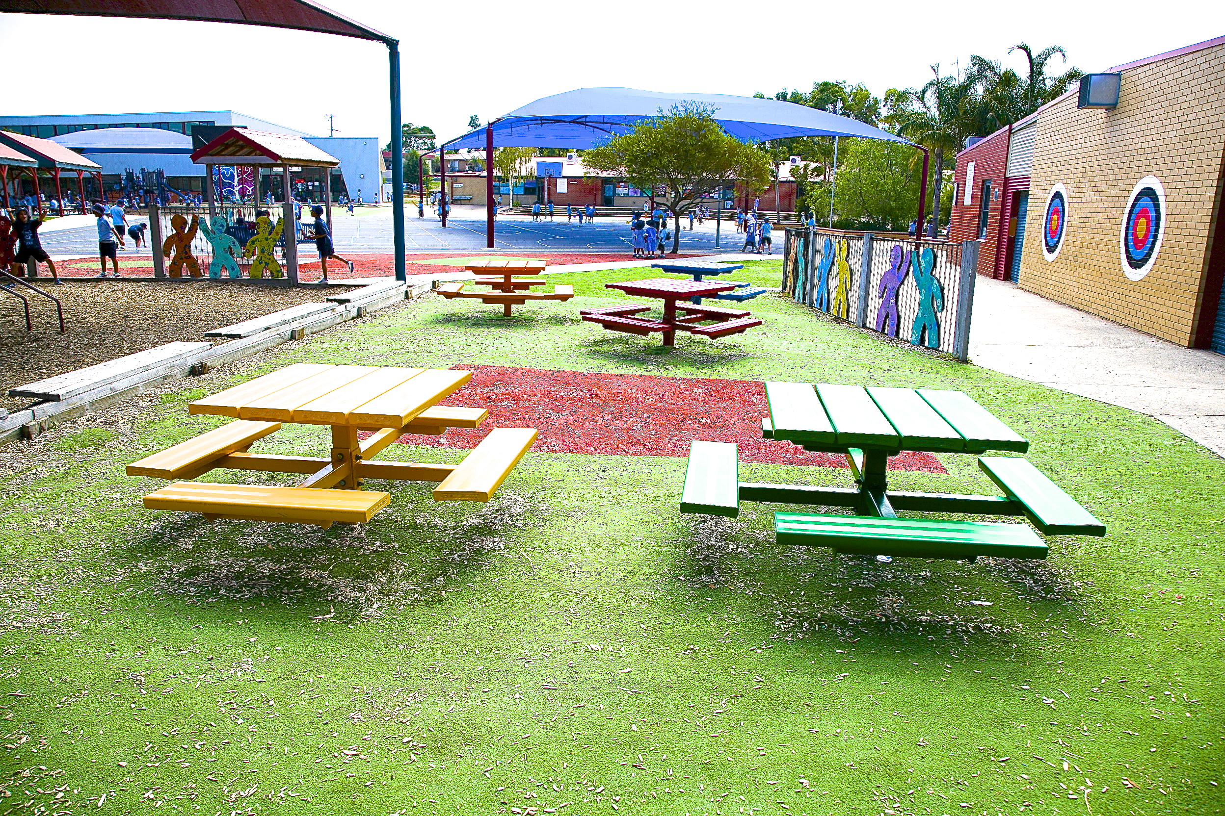 Outdoor Areas And Playgrounds